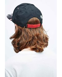 Staple The Lava Pigeon Snapback Cap In Black for men