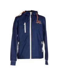 Blend - Blue Jacket for Men - Lyst