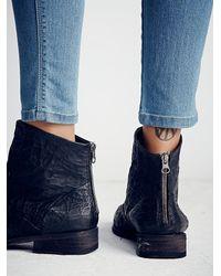 Free People | Black Granada Ankle Boot | Lyst