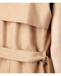 AllSaints Natural Melinoe Sleeveless Coat