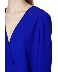 French Connection Blue Arrow Crepe Tunic