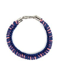 Wool And The Gang | Blue Sheeba Strand Necklace | Lyst