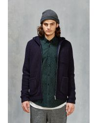 Native Youth | Blue Zip-up Hooded Sweater for Men | Lyst