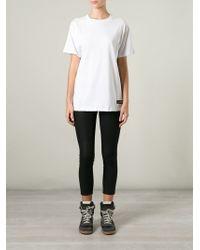 LES (ART)ISTS - White Les (Art)Ists 'Margiela 57' T-Shirt - Lyst