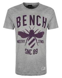 Bench | Gray Industry Standard Tshirt for Men | Lyst