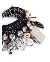 Venessa Arizaga - Black 'pandora's Box' Bracelet - Lyst