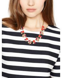 kate spade new york - Multicolor Bashful Blossom Necklace - Lyst