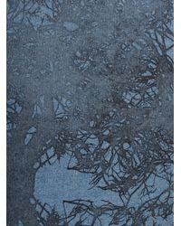 Simeon Farrar - Multicolor Powder Blue Soft Sweat With Branches - Lyst
