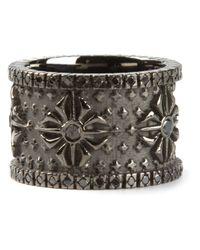 Shamballa Jewels | Gray Black Diamond Ring for Men | Lyst