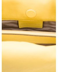 Marc By Marc Jacobs Yellow Large Circle in Square Shoulder Bag