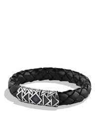 David Yurman | Metallic Frontier Bracelet In Black for Men | Lyst