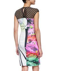 Clover Canyon - Black Painted Garden Cutout-Top Dress - Lyst