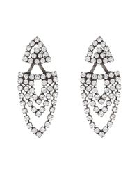 DANNIJO | Metallic Florence Earrings | Lyst