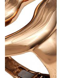 Bernard Delettrez | Metallic Big Mouth Bronze Cuff Bracelet | Lyst