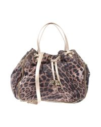 Class Roberto Cavalli | Natural Handbag | Lyst