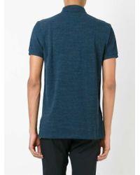 Polo Ralph Lauren - Blue Short Sleeve Polo Shirt for Men - Lyst