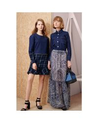 See By Chloé Multicolor Silk-chiffon Maxi Skirt