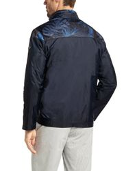 BOSS Green - Blue Sweatshirt Jacket 'Sansol' for Men - Lyst