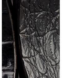 Monies - Black Chunky Curved Bracelet - Lyst