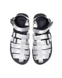 Mastermind Japan White Suicoke Sandals for men
