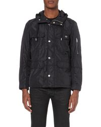DIESEL Black J-crive Hooded Jacket for men