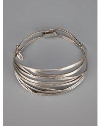 Wouters & Hendrix | Metallic Bamboo Bracelet | Lyst