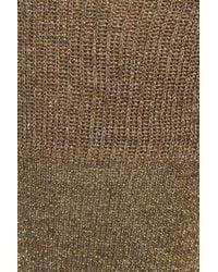 Isabel Marant - Yiley Metallic Stretch-Jersey Socks - Lyst