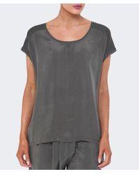 Crea Concept Gray Cupro T-shirt