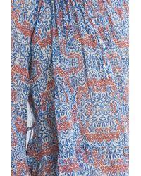 Paul & Joe - Blue Floral Top - Lyst