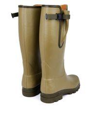 Le Chameau Green Vierzon Rubber Boots for men