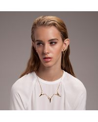 Jennifer Fisher - Metallic 3 Piece Talon Sword Necklace - Lyst