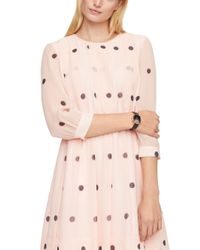 kate spade new york Pink Champagne At Midnight Metro Watch