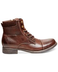 Steve Madden | Brown Madden Bradly Boots for Men | Lyst
