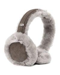 UGG - Gray Headphone Wired Ear Muffs - Lyst
