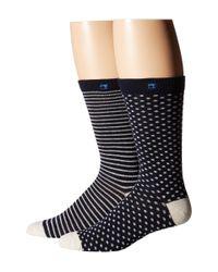 Scotch & Soda | Black Classic Socks - 2-pack for Men | Lyst