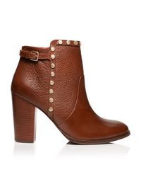 Tory Burch Brown Mae Bootie