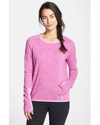 Bench Purple 'Groundcrew' Shirt