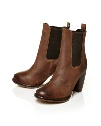 Moda In Pelle - Brown Bellina Medium Casual Short Boots - Lyst