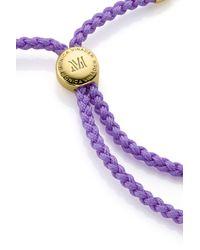 Monica Vinader - Purple Fiji Friendship Bracelet - Lyst