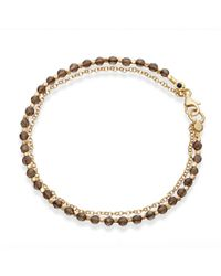 Astley Clarke - Metallic Smoky Quartz Four Leaf Clover Biography Bracelet - Lyst