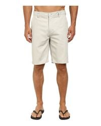 Rip Curl | Gray Epic Stretch Chino Walkshorts for Men | Lyst