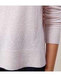 Hobbs - Pink Cashmere Katie Sweater - Lyst