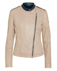 Armani Jeans Natural Leather Jacket