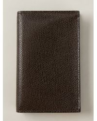 Valextra | Brown Classic Wallet for Men | Lyst