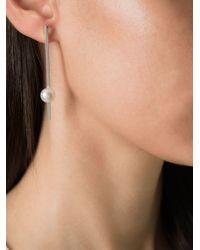 Bukkehave Metallic 'pearly King' Earrings