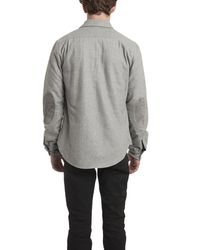 Shipley & Halmos | Gray Gerard Button Down for Men | Lyst