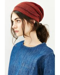 BDG | Brown Mix-stitch Lightweight Beanie | Lyst