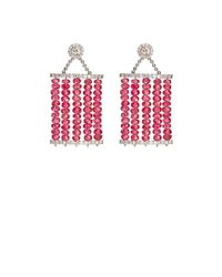 Sharon Khazzam | Pink Carol Drop Earrings | Lyst