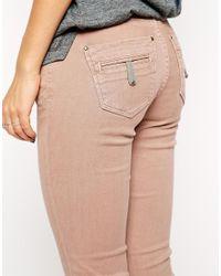 Twenty8Twelve Pink Sienna Skinny Jeans