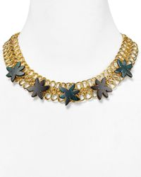 Marc By Marc Jacobs - Green Palm Choker Necklace 17 - Lyst